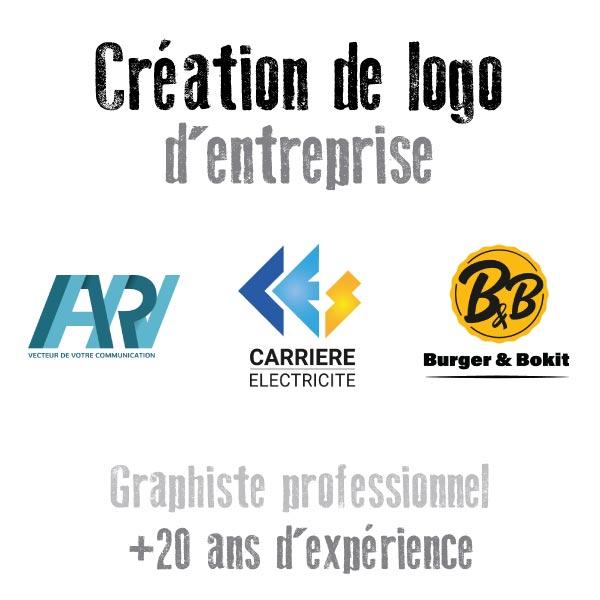 Création de logo d'entreprise par un graphiste de Toulouse