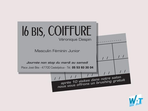 Création de carte commerciale par votre graphiste à Toulouse