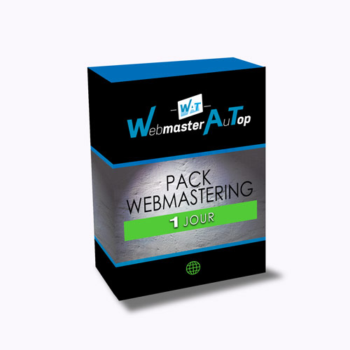 Pack Webmastering 1 Jour