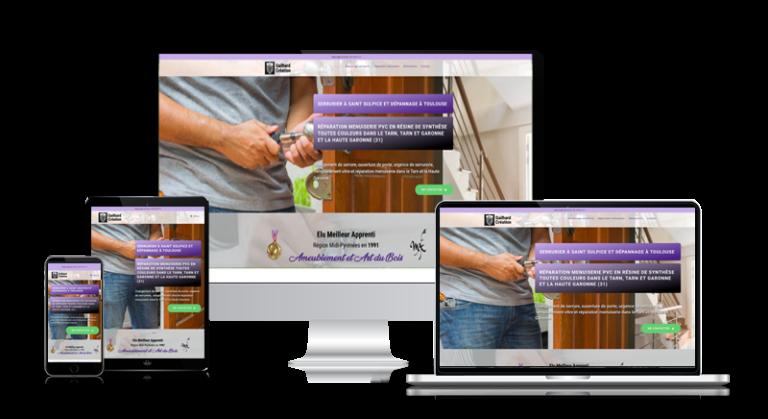 Création de site internet à Toulouse pas cher de serrurier