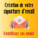 Création signature mail personnalisée par un graphiste à Toulouse