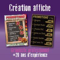 Création affiche pas chère par un graphiste à Toulouse disponible sur Paris, Nantes et Lyon