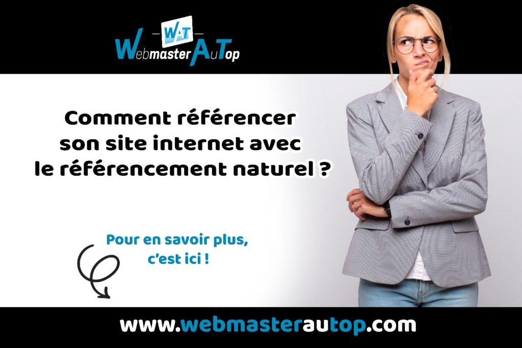 Comment référencer son site internet avec le référencement naturel avec webmasterautop