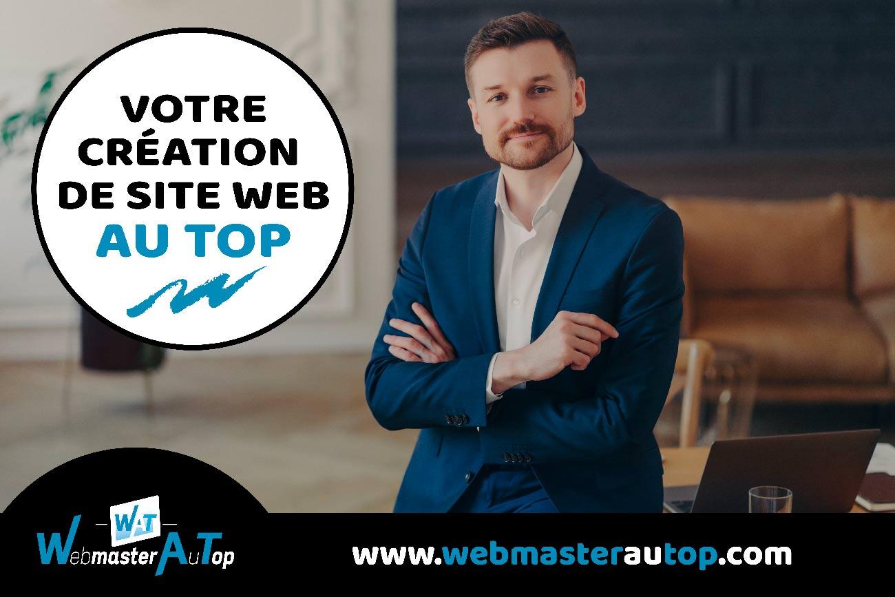 Votre création de site web chez webmaster au top à Toulouse