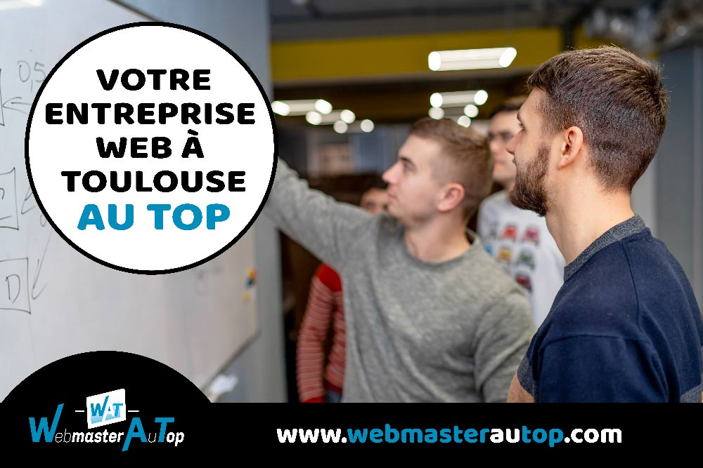 Votre entreprise web à Toulouse chez webmasterautop