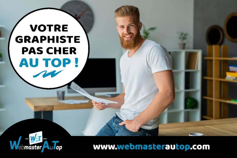 Graphiste pas cher à Toulouse chez webmasterautop