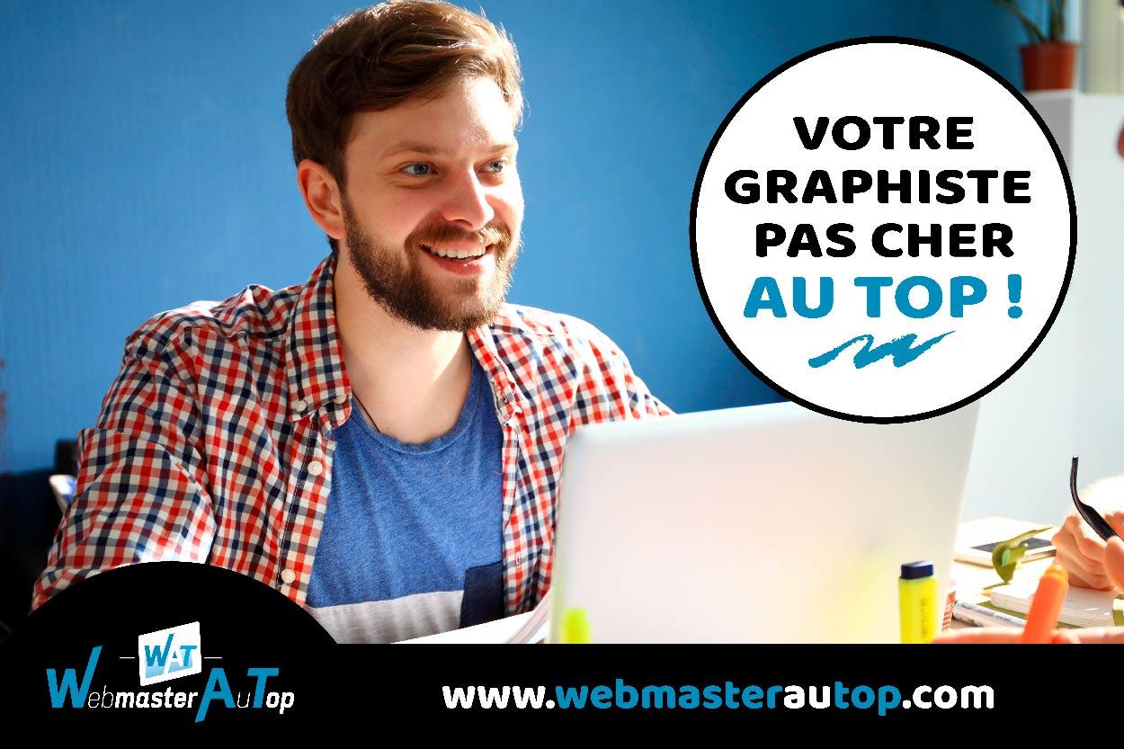 Graphiste pas cher chez webmasterautop