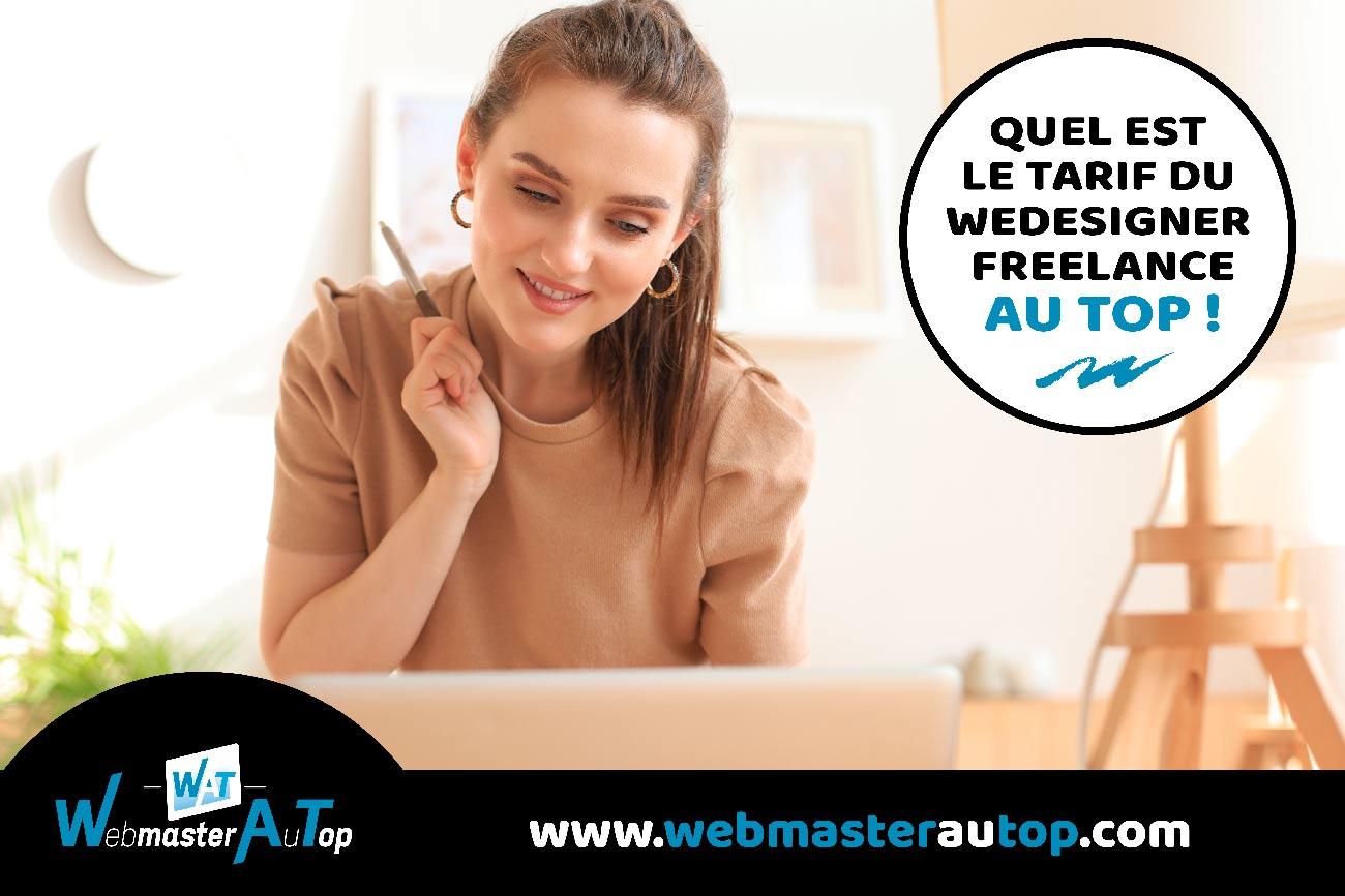 Quel est le tarif d'un webdesigner freelance à Toulouse et Bordeaux